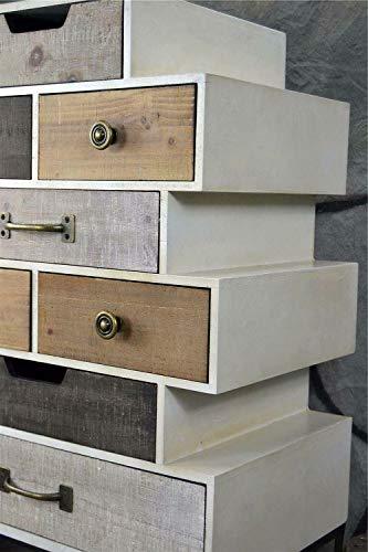 Livitat Sideboard Retro H81 cm Schrank Vintage Kommode Industrie Loft Design LV5042