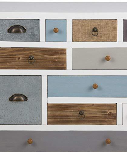 AC Design Furniture Kommode Suwen, B: 70 x T:32 x H: 81 cm, MDF, mehrfarbigen