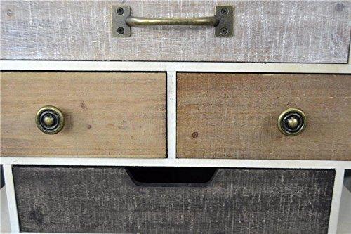 Livitat Sideboard Retro Schrank Vintage Kommode Industrie Loft Design LV5042