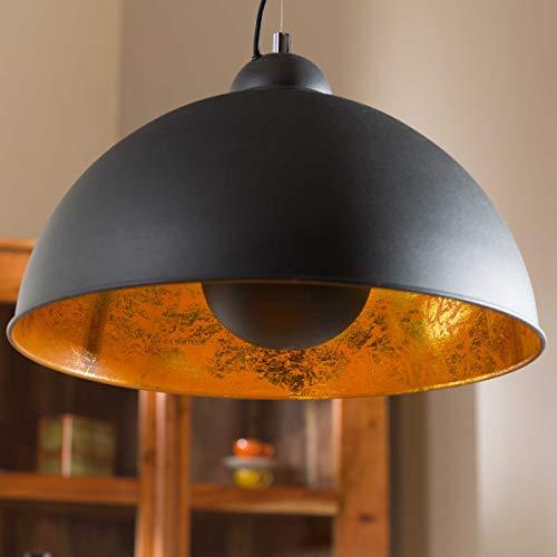 Butlers Satellight Hängeleuchte - Hängelampe Deckenfluter - Metall Retro Factory-Design