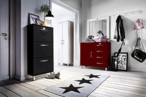 tenzo 5263-033 Malibu - Designer Schuhschrank