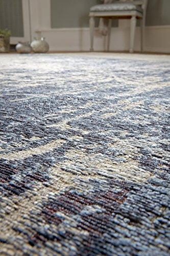 Luxor Living Vintageteppich Barock, Designerteppich, hochwertig, robust, pflegeleicht, Farbe:Beige-Blau, Größe:200 x 290 cm