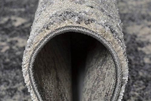 Luxor Living Vintageteppich Rossini, Verschiedene Designs, gewebt, hohe Qualität, Größe:160x235cm, Farbe:Grau