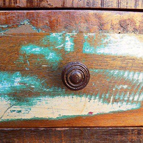 vidaXL Couchtisch Recyceltes Holz Kaffeetisch Beistelltisch Wohnzimmertisch