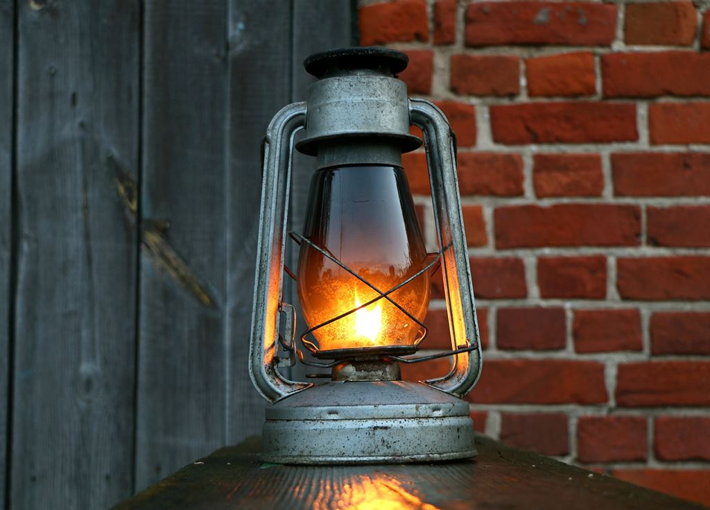 vintage lampe klein